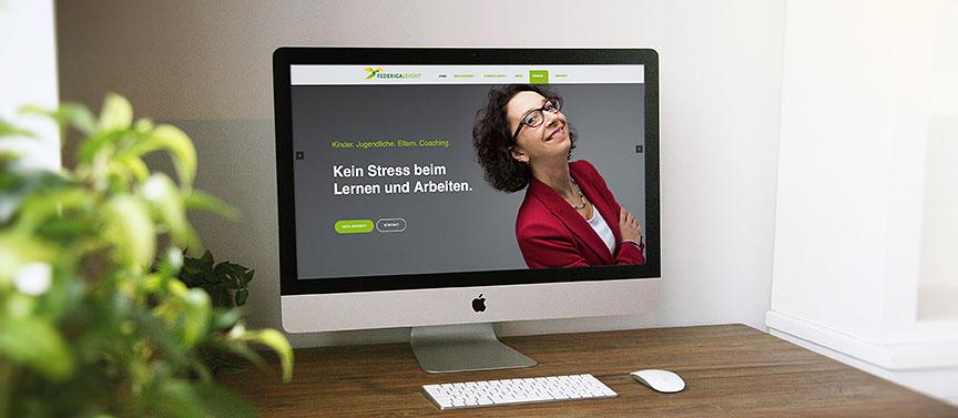 Federica Leicht - Neue Webseite